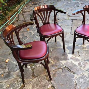 Sedie a pozzetto vecchie originali