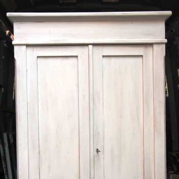 Stipo armadietto shabby due ante