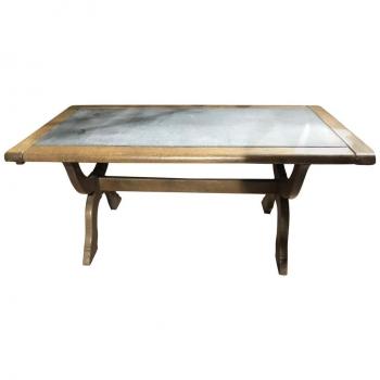 Tavolino da fumo antico in rovere