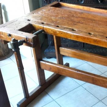 Tavolo banco da falegname