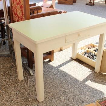 Tavolo bianco originale toscano