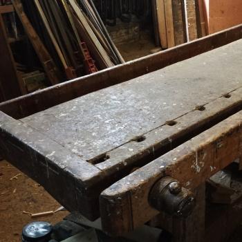 Tavolo da falegname grande