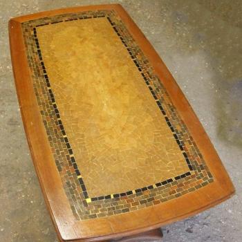 Tavolo da fumo mosaico
