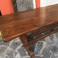 Tavolo in castagno massello pesante e robusto