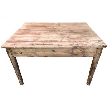 Tavolo in castagno originale antico toscano