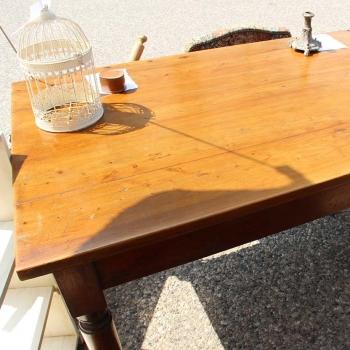 Tavolo in cipresso originale toscano
