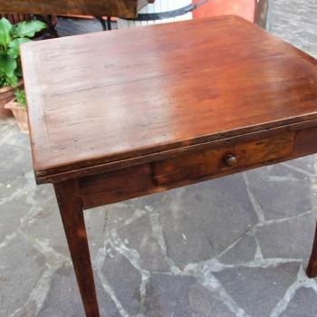 Tavolo quadrato originale toscano