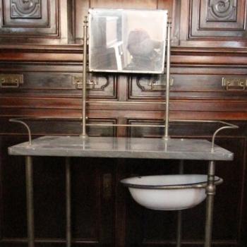 Toilette con marmo